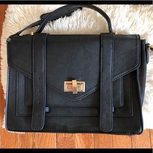 Forever 21 Medium black crossbody bag